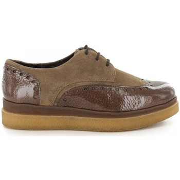 Chaussures Femme Derbies Manas Derbies- Camel