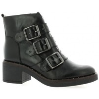 Chaussures Femme Bottines Riva Di Mare Boots cuir Noir