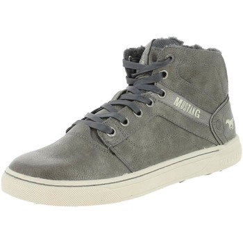 Chaussures Homme Baskets montantes Mustang 4108-604 gris