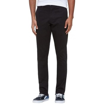 Vêtements Homme Chinos / Carrots Obey Pantalon  Working Man Pant Ii - Black Noir