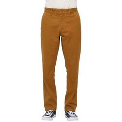 Vêtements Homme Chinos / Carrots Obey Pantalon  Working Man Pant Ii - Tapenade Marron