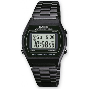Montres & Bijoux Montres Digitales Casio Montre  Collection - Black Noir