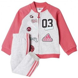 Vêtements Fille Ensembles de survêtement adidas Originals Jogging fille bébé/enfant Fun Fleece rose