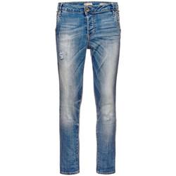 Vêtements Femme Jeans slim Guess Jean Boyfriend  Bleu ciel Bleu