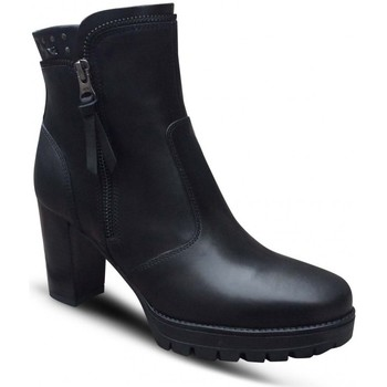 Chaussures Femme Bottines Nero Giardini MP Boots talon Noir Noir