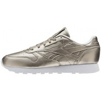 Chaussures Baskets mode Reebok Sport classic leather Gold-metal