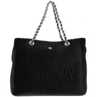 Sacs Femme Cabas / Sacs shopping Richmond BLACK STAR VELVET Nero
