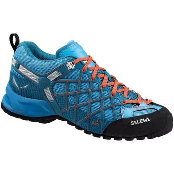 Salewa Wildfire Vent Womens Noir-Bleu-Orange - Chaussures Baskets basses Femme