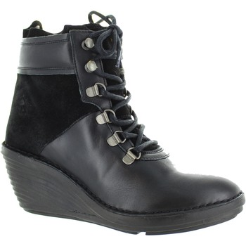 Chaussures Femme Bottines Fly London Sica Noir