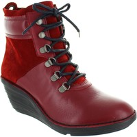 Chaussures Femme Bottines Fly London Sica rouge