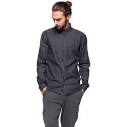 Vêtements Homme Chemises manches longues Minimum PEDRO NOIR
