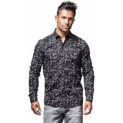 Vêtements Homme Chemises manches longues Minimum RIDGEWOOD Noir
