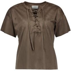 Vêtements Femme Chemises / Chemisiers Minimum JUNNI Taupe