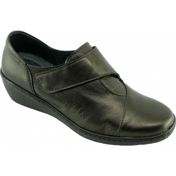 Chaussures Femme Mocassins Aerobics Olaya Confortable - Derby Marron