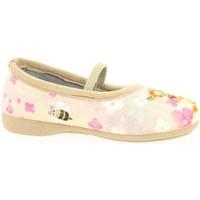 Chaussures Fille Ballerines / babies La Maison De L'espadrille 6332 beige