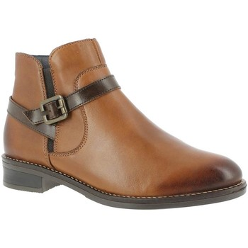 Chaussures Femme Bottines Remonte Dorndorf D8573 MARRON