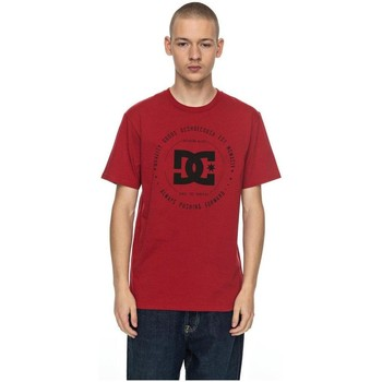 Vêtements Homme T-shirts manches courtes DC Shoes CAMISETA  REBUILT Rouge