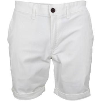 Vêtements Homme Shorts / Bermudas Tommy Hilfiger Bermuda Tommy Hilfiger Dénim blanc pour homme Blanc