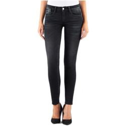 Vêtements Femme Jeans skinny Le Temps des Cerises Jeans Femme Skinny Power3 WC803 Noir 38