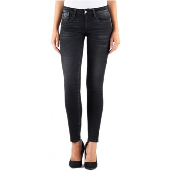 Vêtements Femme Jeans slim Le Temps des Cerises Jeans Femme Skinny Power3 WC803 Noir Noir