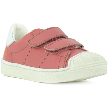 Chaussures Fille Baskets basses The Art Company A063 STAR ROSE / SPLIT Rose