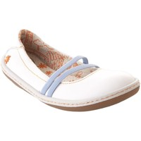 Chaussures Fille Ballerines / babies The Art Company A701 GAUCHO OPTICAL / KIO Blanc