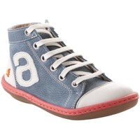 Chaussures Fille Baskets montantes The Art Company A702 OVERLAND-GRAIN PRUSIA / KIO Bleu