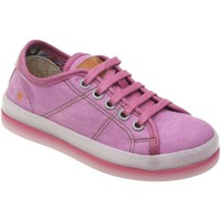 Chaussures Fille Baskets basses The Art Company A955 GAUCHO-DOUBLE TEXTIL MAGENTA / QUEEN Rose