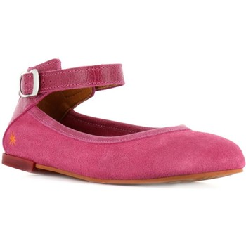 Chaussures Fille Ballerines / babies The Art Company A130 LUX SUEDE-GAUCHO PINK / CARIOCA Rose