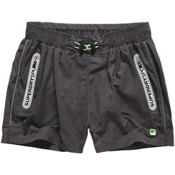 Vêtements Homme Shorts / Bermudas Superdry Short  Sports Active Training Carbon Grey Anthracite
