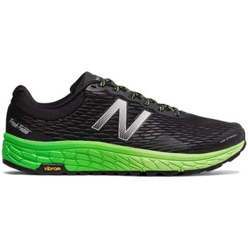 Chaussures Homme Running / trail New Balance Baskets Trail Running  Fresh Foam Hierro V2 Black Green Noir