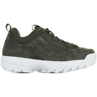 Chaussures Femme Baskets basses Fila Disruptor S Low Wmn Olive Night vert