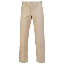 Vêtements Homme Chinos / Carrots Dickies Pantalon  Slim Straight Work Pant Kaki WP873 Kaki