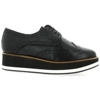 Chaussures Femme Derbies We Do Derby cuir laminé Noir