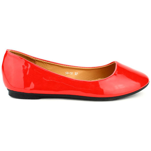 Chaussures Femme Ballerines / babies Cendriyon Ballerines Rouge Chaussures Femme Rouge