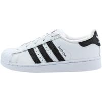 Chaussures Garçon Baskets basses adidas Originals Superstar Cadet - Ref. BZ0370 Blanc