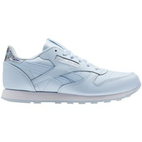 Chaussures Enfant Baskets basses Reebok Sport Classic Leather Fresh Bluewhite Bleu