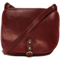 Sacs Femme Sacs porté épaule Oh My Bag Sac à main femme cuir souple - Modèle Verlaine rouge ROUGE