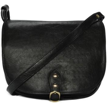 Sacs Femme Sacs porté épaule Oh My Bag Sac à main femme cuir souple - Modèle Verlaine noir NOIR
