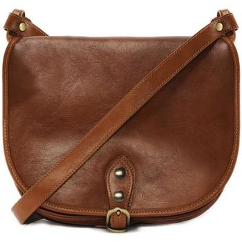 Sacs Femme Sacs porté épaule Oh My Bag Sac à main femme cuir souple - Modèle Verlaine cognac foncé COGNAC FONCE