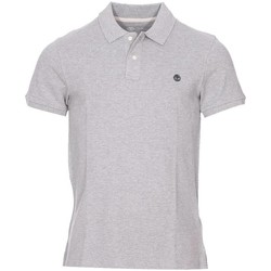 Vêtements Homme Polos manches courtes Timberland - polo Gris