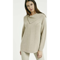 Vêtements Femme Pulls Max & Moi Pull NAJETTE Femme Collection Automne Hiver Beige