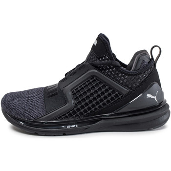 Chaussures Homme Baskets montantes Puma Ignite Limitless Knit Noir