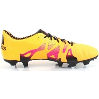 Chaussures Homme Football adidas Performance X 15.1 SG LEATHER Jaune