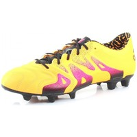 Chaussures Homme Football adidas Performance X 15.1 FG/AG LEATHER Orange