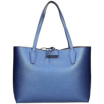Sacs Femme Cabas / Sacs shopping Guess Sac Cabas Bobbi Inside Out Bleu/Cognac Bleu