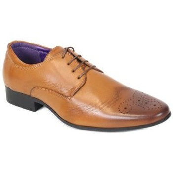 Chaussures Homme Derbies Kebello Chaussures ELO187 marron