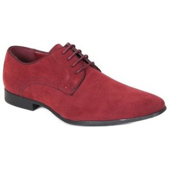 Chaussures Homme Derbies Kebello Chaussures ELO592 rouge