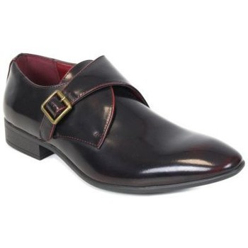 Chaussures Homme Mocassins Kebello Chaussures ELO589 wine noir