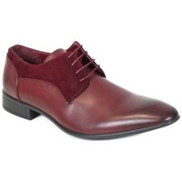 Chaussures Homme Derbies Kebello Chaussures ELO588 rouge